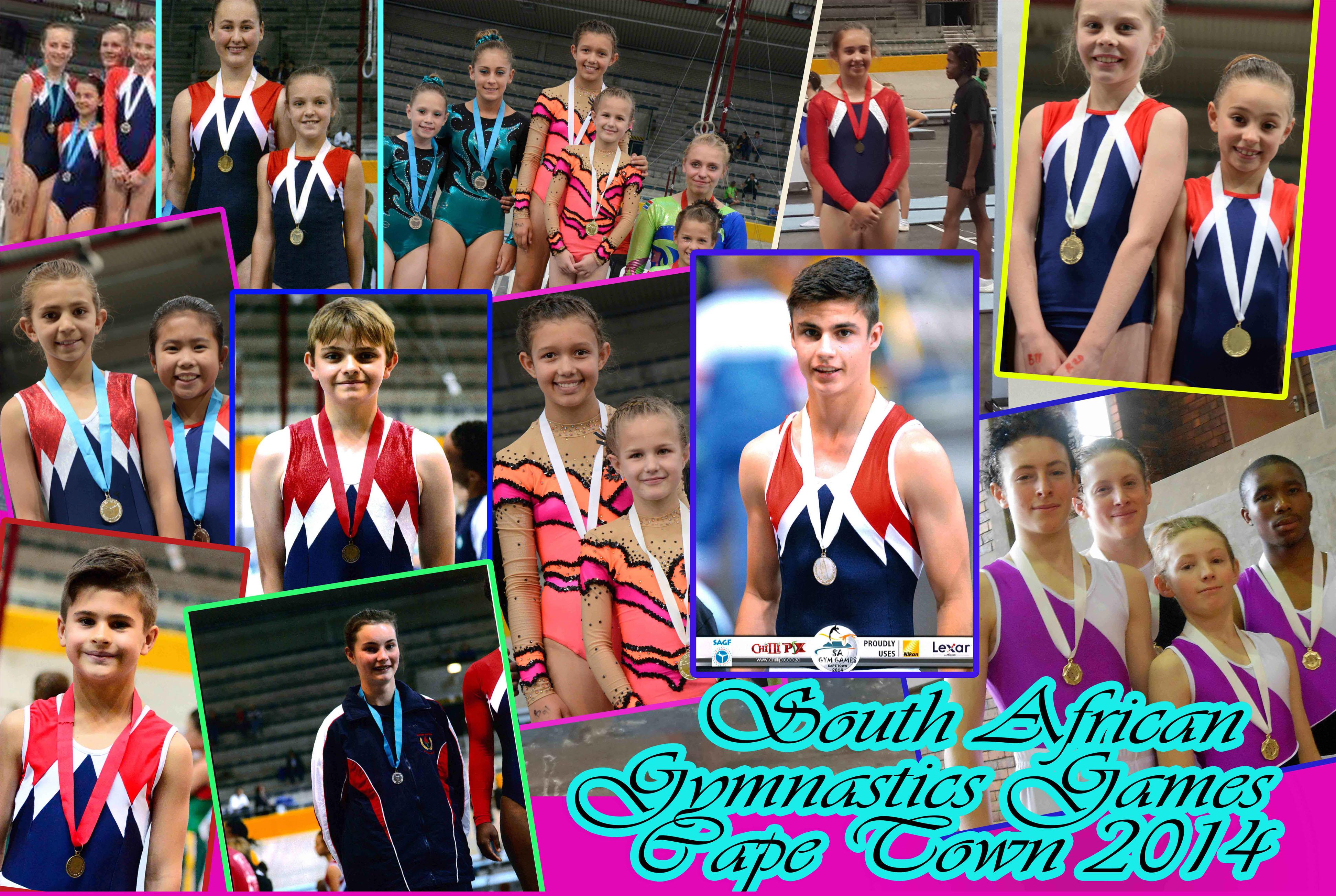 SA Gymnastics Games Success for Gymnasts