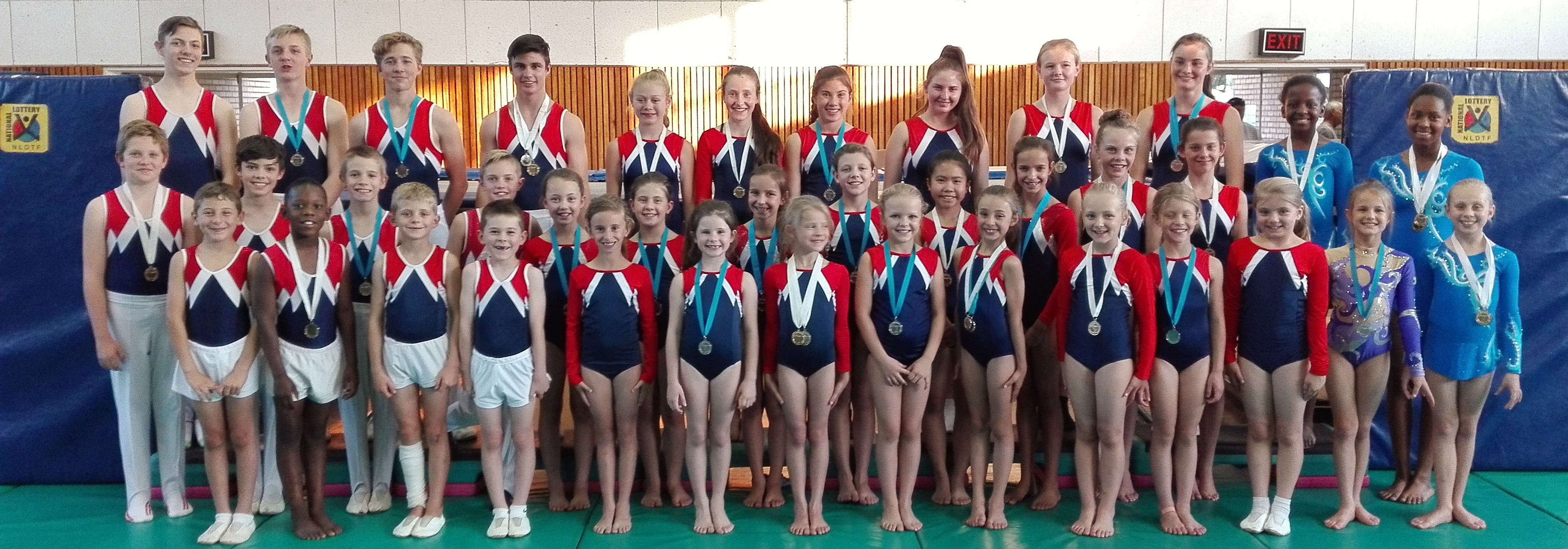 SA Gymnastics Games Success