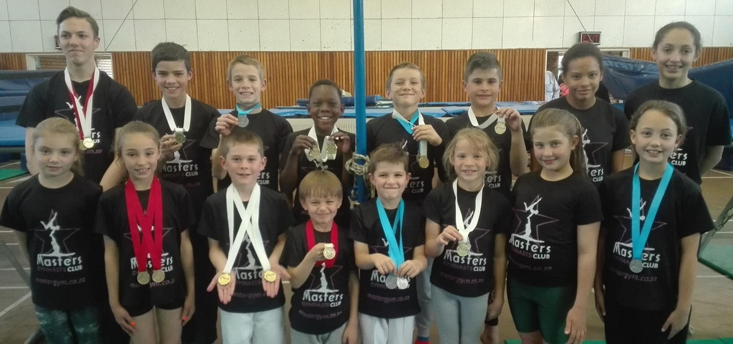 Trampolinists Compete in Gauteng Championship
