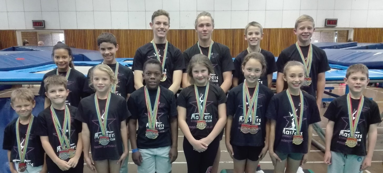 Trampolinists Do Well at Arnold Classic Africa