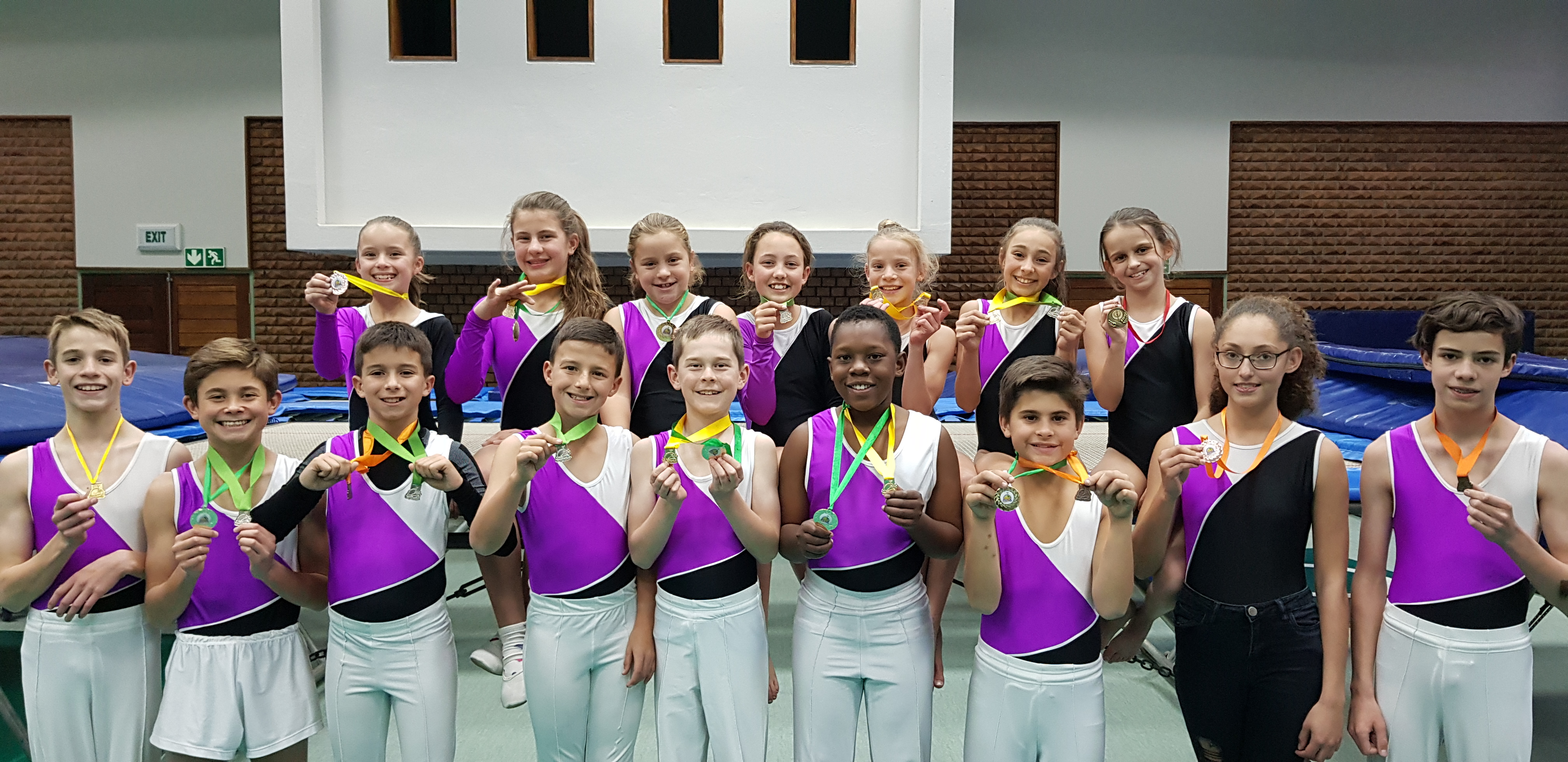 Trampolinists Jump to Medals