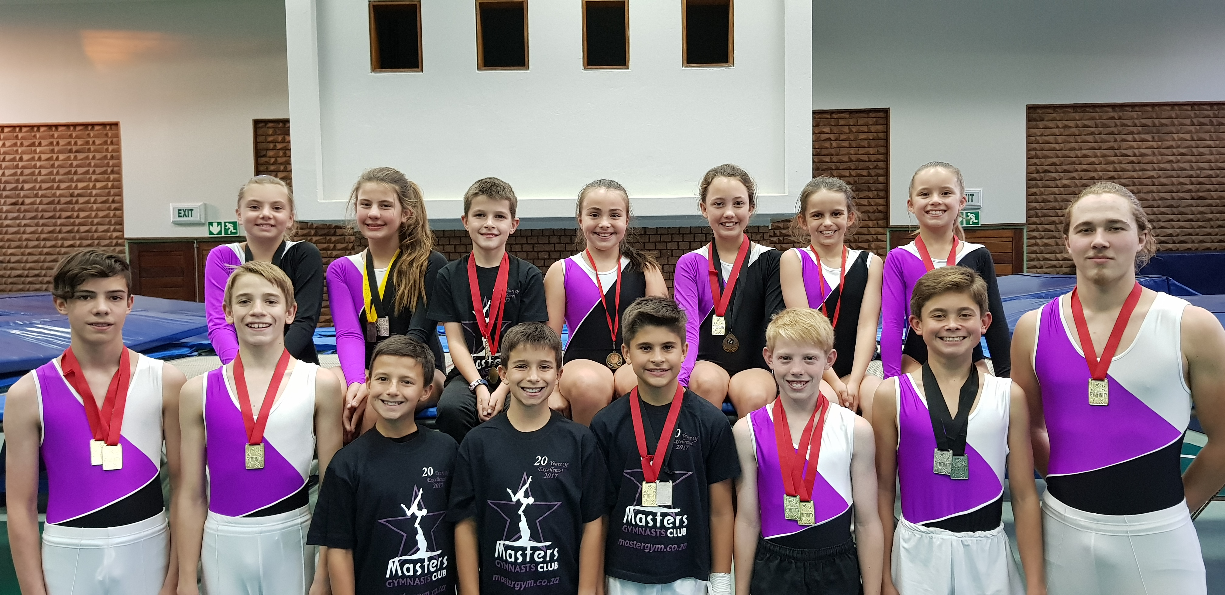 Trampolinists Do Well at First Competition of Season